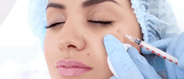 Kosmetischer Eingriff Hautalterung